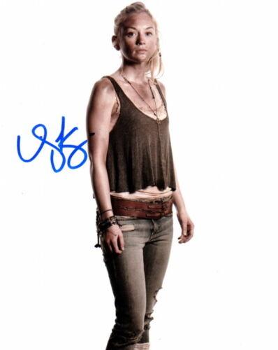 EMILY KINNEY.. The Walking Dead - SIGNED