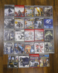 PS3 games $5-10 each