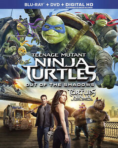 Teenage Mutant Ninja Turtles: Out of the Shadows Blu-Ray and DVD London Ontario image 1