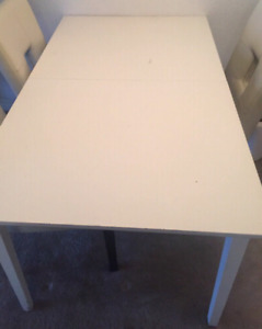 White Dining Table ( can get longer )