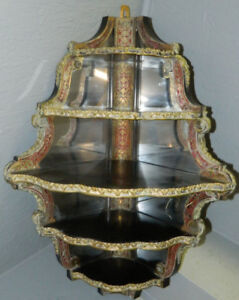 Very Rare 18th century French Corner Boulle Louis XV