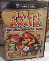 Nintendo Gamecube Paper Mario Thousand Year Door
