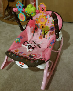 Fisher Price Infant to Toddler Rocker (Pink Owls)