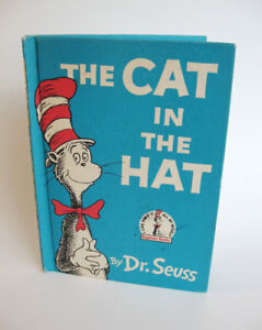 Vintage The Cat in the Hat by Dr Seuss