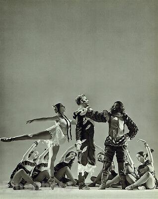 Pochahontas Costume (1936 Vintage BALLET CARAVAN Dance POCHAHONTAS 13x10 Photo Art GEORGE PLATT)