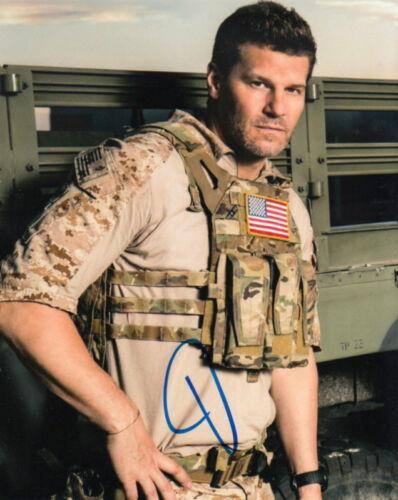 DAVID BOREANAZ.. SEAL Team Stud - SIGNED