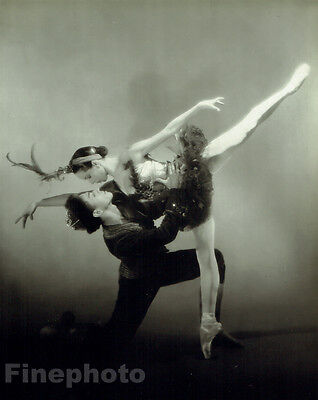 1949 NEW YORK CITY BALLET Firebird TALLCHIEF, MONCION Photo ~ GEORGE PLATT LYNES
