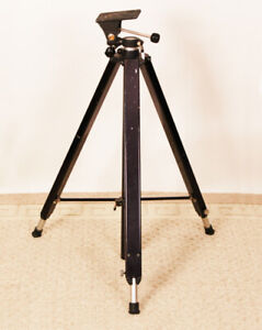 Tripod for large format camera.