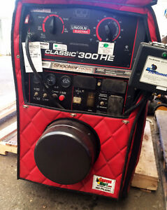 RED HOT DEAL! Used Lincoln Classic 300 HE Welding Machine