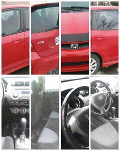 2007 Honda Fit Hatchback