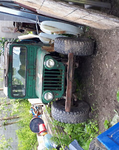 Willys jeep project(rat rod)