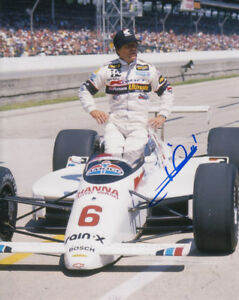MARIO ANDRETTI Signed Autographed NASCAR F1 CAR Racing Photo COA