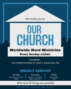 Looking for a home church?