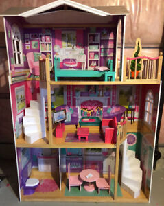 "Kid Kraft Elegant Doll House for 18"" dolls"