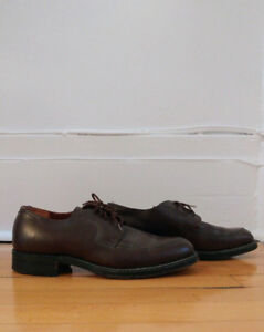 Beautiful leather oxfords (Matthew Dack shoes)