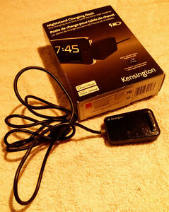 Kensington IPOD touch charger nightstand clock and hard case