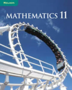 Nelson Mathematics 11 Textbook Evaluator's copy Hardcover NEW London Ontario image 1