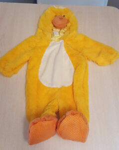 6-12 MONTHS BABY DUCK COSTUME CUTE FOR EASTER