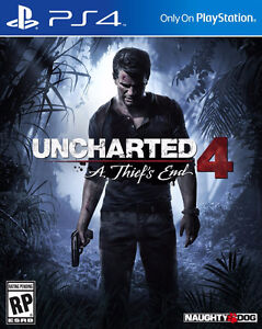 Uncharted 4 perfect condition WITH CODE