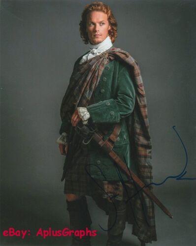 SAM HEUGHAN.. Outlander's Jamie Fraser - SIGNED