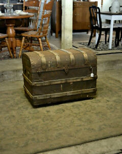 Antique Trunk on Casters