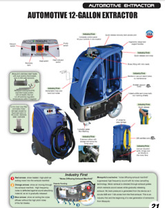Extractor for cleaning Cars, carpet & upholstery