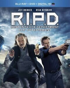 R.I.P.D Blu-ray and DVD excellent condition