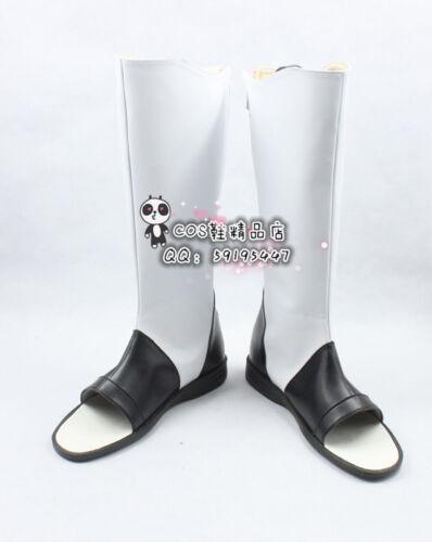 Naruto Akatsuki Itachi White Cosplay Shoes Boots X002