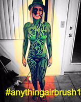 Airbrush Designs:Body Painting, Clothing, Murals, Automotive etc