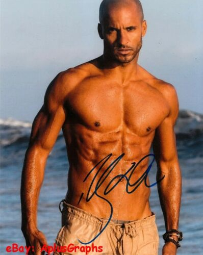 RICKY WHITTLE.. Sexy Shirtless Stud (American Gods) SIGNED
