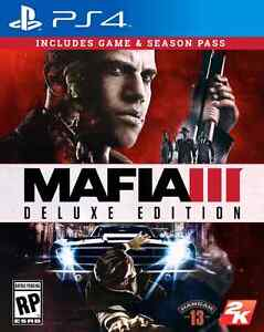 Mafia 3 ps4. 10/10 condition. Deluxe edition. Code not used