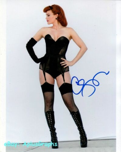 CARLA GUGINO.. Watchmen's Scantily Clad Siren -  SIGNED