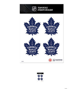Toronto maple leafs stickers/ decals