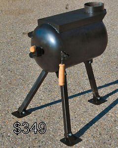 Wall Tent  / Survival Wood Stove with Folding Legs(Fort St.)