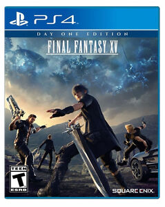 Final Fantasy 15 PS4 (FFXV day one edition)