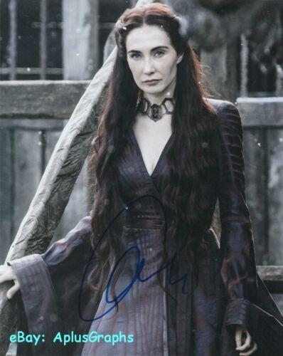 CARICE VAN HOUTEN.. Game Of Thrones' Melisandre - SIGNED