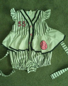 Girls baseball outfit! 2t-3t