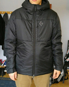 Manteau d'hiver black diamond parka stance belay