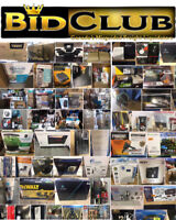 BIDCLUB LIVE AUCTION SUNDAY MAY 27TH 10AM-5PM!!