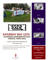 ElderDog Dartmouth East Yard Sale