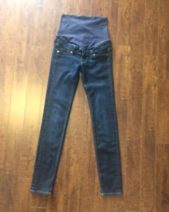 Sz. 4 Maternity Denim Rib Jeans.  Paid $56.49 ..... $20.00