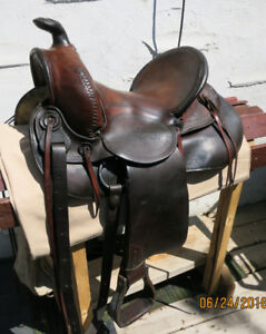 Collector Great West Saddlery Saddle