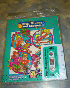 Children's Audio Book Cassette Set -- DAYS, MONTHS AND SEASONS