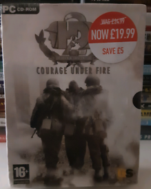 Courage under fire pc game new unopened