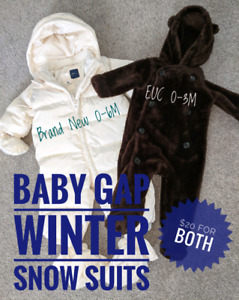 Baby GAP Snow Suits