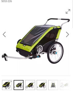 Looking for double bicycle chariot/ stroller
