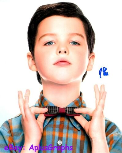 IAIN ARMITAGE.. Young Sheldon's Little Charmer - SIGNED