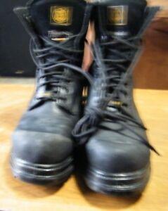 soulier et botte de travail cap d acier