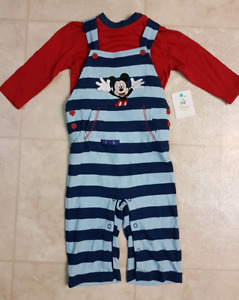 Boys size 12-18 months disney outfit - brand new with tags