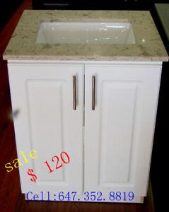 kitchen cabinet,washroom vanity, marble counter tops, led